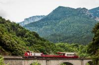 Idée de Sortie Camps sur l'Agly TRAIN DU PAYS CATHARE ET DU FENOUILLEDES