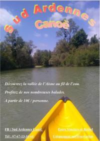 Idée de Sortie Coulommes et Marqueny Sud Ardennes Canoë