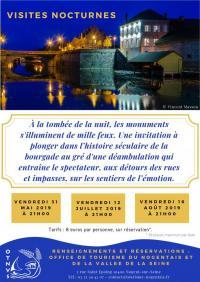 Idée de Sortie Fontaine Mâcon Visite nocturne