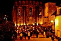 Idée de Sortie Saint Chamassy Visite théâtrale aux flambeaux de l'Abbaye de Cadouin