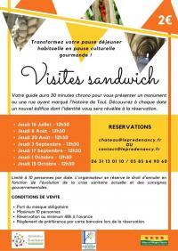 Idée de Sortie Dommartin lès Toul VISITES SANDWICH