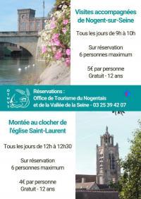 Idée de Sortie Fontenay de Bossery Montée au clocher de l'église Saint-Laurent
