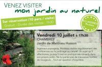 Idée de Sortie Château Salins VENEZ VISITER : MON JARDIN AU NATUREL