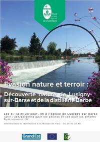 Idée de Sortie Lusigny sur Barse Découverte nature de Lusigny-sur-Barse et de la distillerie Barbe