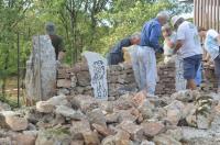 Idée de Sortie Saujac Chemin-Livre en Construction / Chantier Participatif