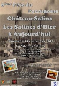 Idée de Sortie Château Salins 6EME FETE DU PATRIMOINE