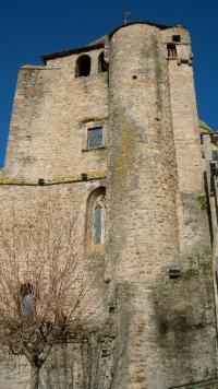 Idée de Sortie Auriac Lagast Eglise de Cassagnes Bégonhès et son clocher