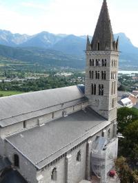 Idée de Sortie Châteauroux les Alpes Cathédrale Notre-Dame du Réal