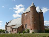 Idée de Sortie Romery Église fortifiée Saint-Nicolas