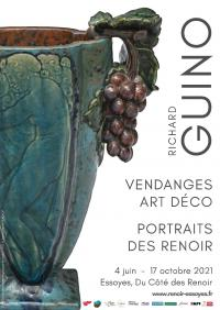 Evenement Les Riceys Exposition : Richard Guino - Vendanges, Art Déco, Portraits des Renoir