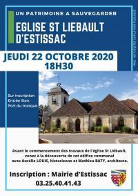 Idée de Sortie Estissac Soirée découverte église St Liébault d'Estissac