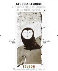 Evenement Nouzerolles Exposition de Georges Lemoine : les itinéraires poétiques d'un illustrateur