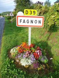 Idée de Sortie Gruyères FAGNON, Village Fleuri 1 Fleur