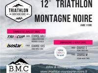 Evenement Alzonne 12EME TRIATHLON DE LA MONTAGNE NOIRE