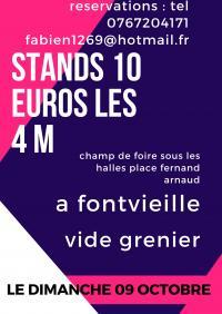 Vide-Grenier Fontvieille