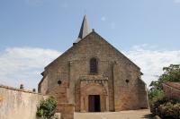 Idée de Sortie Limoise Église Saint-Étienne - Franchesse