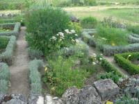 Jardin de la Commanderie de Sallebruneau Rimons
