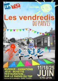 Evenement Nancy LES VENDREDIS DU PARVIS : FÊTE DE LA MUSIQUE