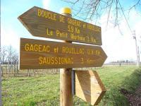 Idée de Sortie Gardonne Boucle de Gageac et Rouillac