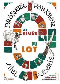 Idée de Sortie Fournoulès Brasserie les Rives du Lot