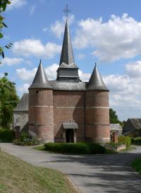 Idée de Sortie Saint Pierre lès Franqueville Église fortifiée Saint-Théodulphe