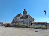 Idée de Sortie Courcelles sur Voire Eglise Saint-Nicolas d'Hampigny