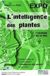 Evenement Bréhand Exposition - L'intelligence des plantes