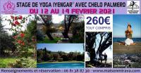 Evenement Villedaigne STAGE DE YOGA IYENGAR AVEC CHELO PALMERO