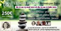 Evenement Villedaigne STAGE DE YOGA VINYASA AVEC DAISY