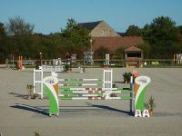 Evenement Chezal Benoît Concours de saut d'obstacles tournée des as poney