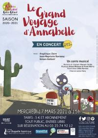 Evenement Nozay Le grand voyage d'Annabelle