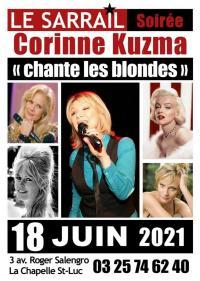 Evenement Barberey Saint Sulpice Soirée Sarrail - Soirée Corinne Kuzma - Spectacle Corinne chante les blondes