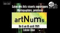 Evenement Longsols « Artnums » - Salon des arts visuels numériques - 3e édition