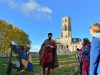 Evenement Saint Genès de Lombaud Visite chevaleresque