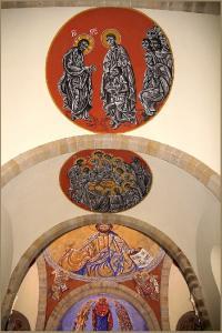 Idée de Sortie Lédergues Visite de l'Eglise St Martial de Lagarde - Fresques de N. GRESCHNY