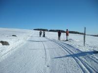 Idée de Sortie Saint Chély d'Aubrac Station de ski de Laguiole Ski de Fond et Raquettes