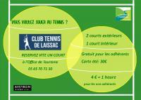 Idée de Sortie Sévérac l'Église Location de courts de tennis