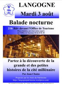 Idée de Sortie Cellier du Luc BALADE NOCTURNE DE LANGOGNE