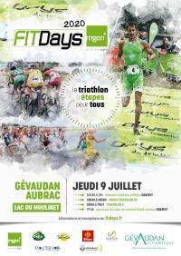 Evenement Castelnau de Mandailles TRIATHLON GÉVAUDAN-AUBRAC FITDAYS MGEN
