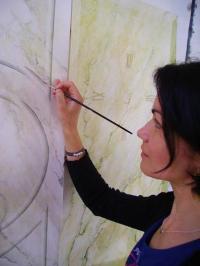Idée de Sortie Le Chesne Valérie Penel - Artiste peintre décoratrice