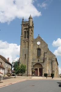 Idée de Sortie Sazeret Église Saint-Gervais et Saint-Protais - Le Montet