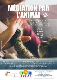 Evenement Pinsac Ateliers : ''Médiation par l'Animal''