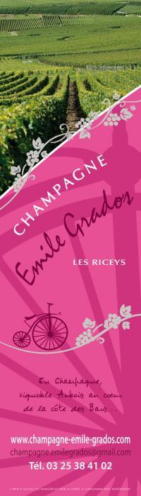 Idée de Sortie Les Riceys CHAMPAGNE EMILE GRADOS