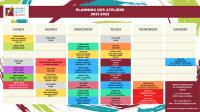 Planning-ateliers-21-22 Lesparre Médoc