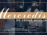 Evenement Capendu LES MERCREDIS DE GRAND MOULIN