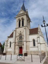 Idée de Sortie Lusigny sur Barse Eglise Saint-Martin