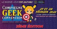 Evenement Oise [REPORTÉ] Compiègne Geek Convention - 3ème édition