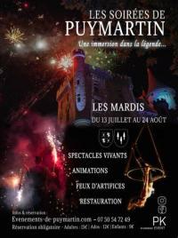 Evenement Aquitaine Les soirées de Puymartin