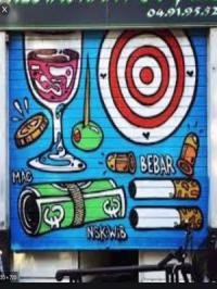 Magasin Marseille Le Grisbi restaurant bar galerie