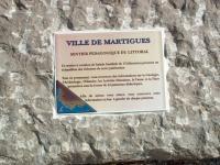 Le sentier du littoral Martégal Martigues